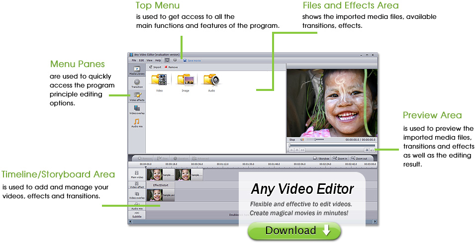 Windows 7 Any Video Editor Pro. 1.3.6 full
