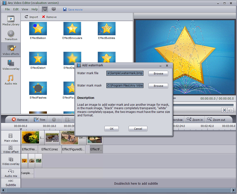 Any Video Editor – Video Editing Software, Edit Video, Edit