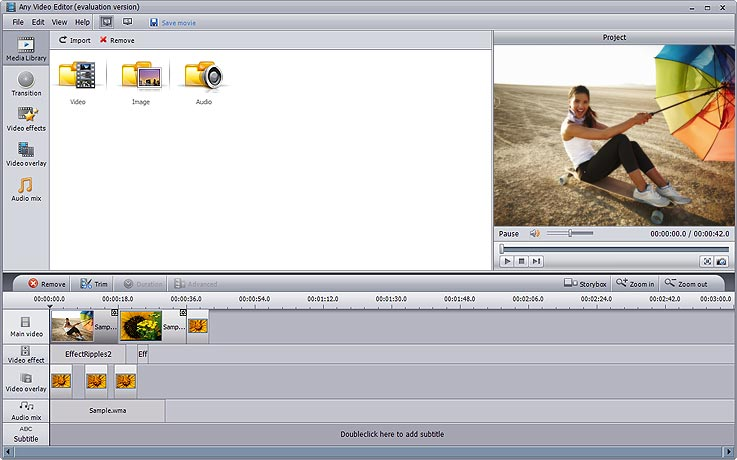 Editing funny videos